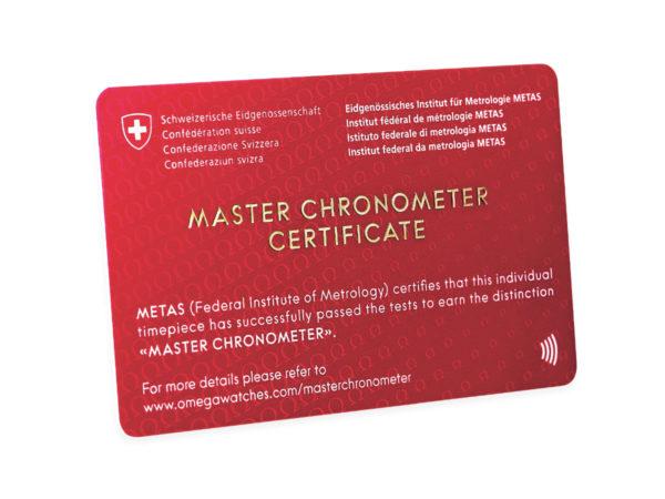 Master Chronometer Certificate